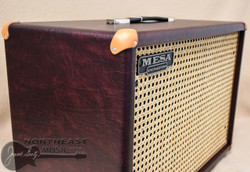 Mesa Boogie 1X12 Widebody Guitar Cab in Wine Taurus with Wicker Grille (0.112WC.V26.G07.P03.H01.C02.C90)