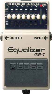 Boss GE-7 7 Band Graphic EQ Pedal (GE-7)
