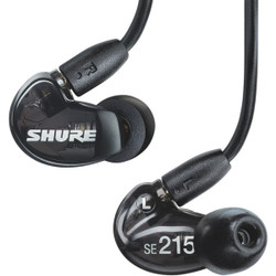 Shure SE215 Sound Isolating Earphones (SE215-K)