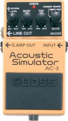 Boss AC-3 Acoustic Simulator Pedal (AC-3)