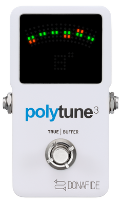 TC Electronic Polytune 3 Polychromatic Tuner with Built in Bonafied Buffer