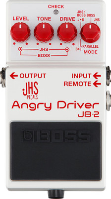 Boss JB-2 Angry Driver Distortion Pedal JHS JB2 JB 2 | Northeast Music Center