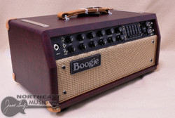 Mesa Boogie Mark Five 35 Amplifier Head in Wine Taurus with Tan Welt and Tan Leather Corners (2.M35.117D.V26.G07.P03.H04.C02.XXX)