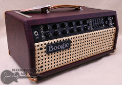 Mesa Boogie Mark V:35 Head in Wine Taurus with Wicker Grille and Tan Leather Corners (2.M35.117D.V26.507.P03.H04.C02.XXX)