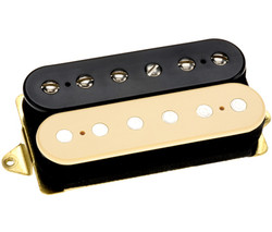 "DiMarzio ""Air Norton"" F-Spaced Humbucker Pickup in Black & Cream (DP193)"
