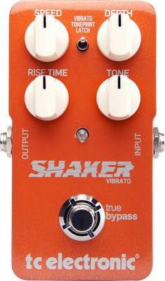 TC Electronic Shaker Vibrato Effect Pedal | Northeast Music Center