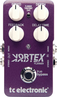 TC Electronic Vortex Flanger Effect Pedal | Northeast Music Center