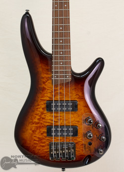 Ibanez SR400QM Bass in Dragon's Eye Burst (SR400EQM_DEB) | Northeast Music Center Inc.