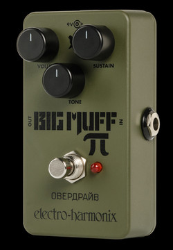 EHX Green Russian Big Muff Pi Distortion/Sustainer Pedal