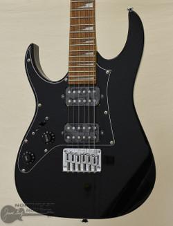 Ibanez GRGM21 Mikro Short Scale Left Handed Guitar - Black | Northeast Music Center Inc.