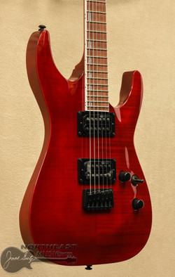 ESP/LTD LH-200FM Electric Gutiar - See Thru Red | Northeast Music Center inc.
