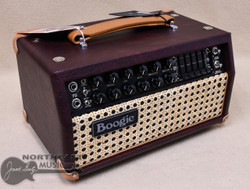 Mesa Boogie Mark V:25 Head - Wine Taurus, Wicker Grille, Tan Leather Corners