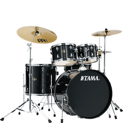 Tama Imperialstar 5-Piece Drumkit in Hairline Black