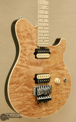 Ernie Ball Music Man Axis in Natural Quilt | Northeast Music Center Inc.