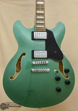 Ibanez Artcore AS73 Hollow Body - Olive Green Metallic   Ibanez Electric Guitars Northeast Music Center