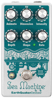 EarthQuaker Devices Sea Machine Super Chorus (SEAMACHINEV3)