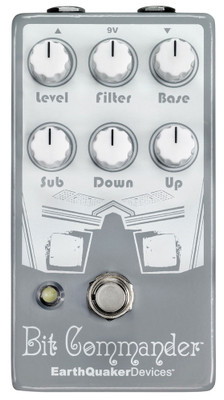 EarthQuaker Devices Bit Commander Analog Octave Synth (BITCOMMANDERV2)