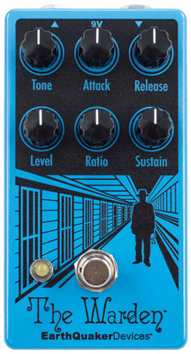 EarthQuaker Devices The Warden Optical Compressor (THEWARDENV2)