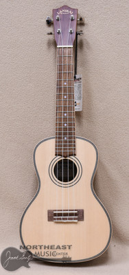 Lanikai Concert Ukulele with Solid Sitka Spruce Top and Morado Back and Sides (STSP-C)