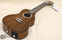 Lanikai Electric Concert Ukulele - Natural Mahogany | Northeast Music center Inc.