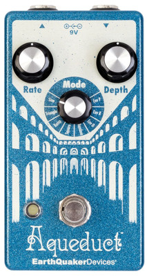 EarthQuaker Devices Aqueduct Vibrato Effects Pedal (Aqueduct_Vibrato)