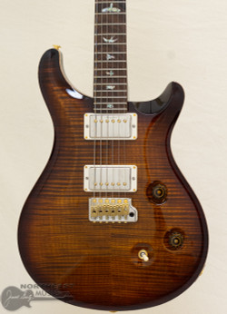 PRS Wood Library Custom 24 Fatback - Black Gold 10 Top (WL1135_KG) | Northeast Music Center Inc.