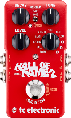 TC Electronic Hall Of Fame 2 Reverb Pedal with TonePrint
