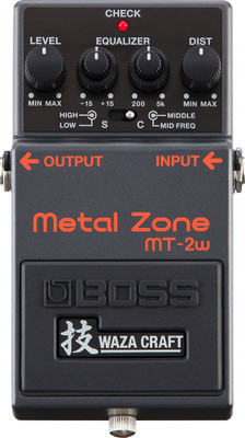 Boss MT-2W Metal Zone Waza Distortion