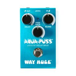 Way Huge Smalls Aqua-Puss Analong Delay   Dunlop Effects Pedals - Northeast Music Center