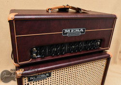 Mesa Boogie TC-50 Head and Matching 1x12 Widebody Cabinet - Wine Taurus (TC50.WINE.STACK) | Northeast Music Center Inc.