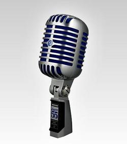 Shure Super 55 Dynamic Microphone | Shure Mics - Northeast Music Center inc.