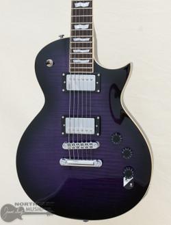 ESP/LTD EC-256FM Electric Guitar - See Thru Purple Sunburst (LEC256FMSTPSB) | Northeast Music Center Inc.