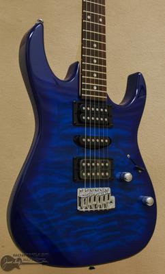 Ibanez GRX70QA Gio - Transparent Blue Burst