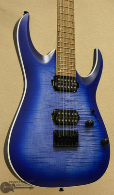 Ibanez RGA42 - Transparent Blue Burst Flat | Northeast Music Center Inc.
