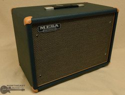 Mesa Boogie 1x12 Widebody Cabinet - Emerald Bronco, Gold Jute Grille | Northeast Music Center Inc.
