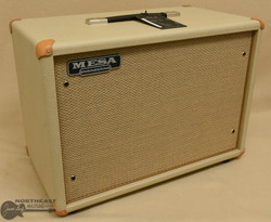 Mesa Boogie 1x12 Widebody Cabinet - British Tan Bronco, Tan Jute Grille || Northeast Music Center Inc.