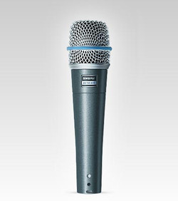 Shure Beta 57A Super Cardioid Dynamic Microphone