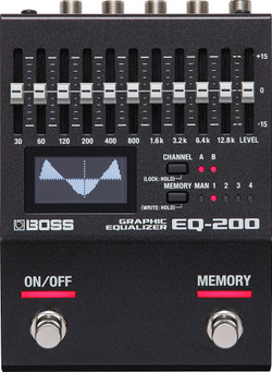 Boss EQ-200 Graphic Equalizer | Effects Pedals at Northeast Music Center inc.