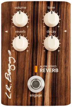L.R. Baggs Align Series Reverb Pedal | Acoustic Guitar Effects - Northeast Music Center inc.