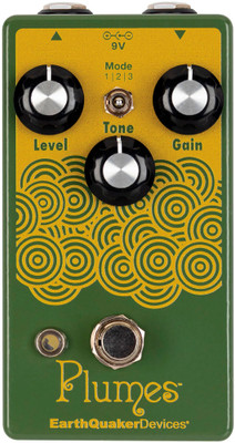 EarthQuaker Devices Plumes Small Signal Shredder | Overdrive Effects Pedals Northeast Music Center inc.