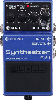 BOSS SY-1 Synthesizer Pedal (SY-1)   Northeast Music Center Inc.