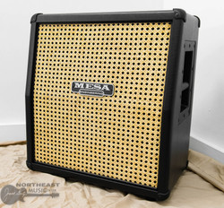 Mesa Boogie Mini Slant Cabinet w/ Vintage 30 Speaker - Black Taurus w/ Wicker Grille (0.112.SL.V01.G07.V30) | Northeast Music Center Inc.