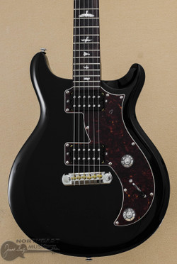 PRS SE Mira - Black w/ Tortoise Pickguard - In Stock & Ready To Ship! (MIBL) | Northeast Music Center Inc.