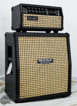 Mesa Boogie Mark V: 25 Head w/ Matching Mini Recto 1x12 Cabinet - Black w/ Wicker Grille | Northeast Music Center Inc.
