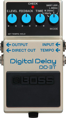 Boss DD-3T Digital Delay w/ Tap Tempo (DD-3T) | Northeast Music Center Inc.