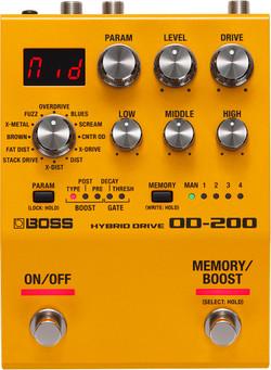 BOSS OD-200 Hybrid Drive Pedal (OD-200) | Northeast Music Center Inc.