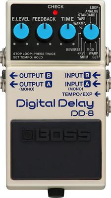BOSS DD-8 Delay Pedal (DD-8) | Northeast Music Center Inc.