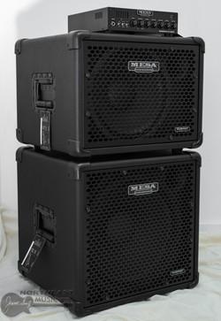 Mesa Boogie Subway D800 Bass Amplifier w/ 1x12 + 1x15 Cabinets (D800.112.115) | Northeast Music Center Inc.