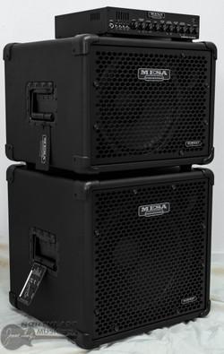 Mesa Boogie Subway D800+ Bass Amplifier w/ 1x12 + 1x15 Cabinet (D800+.112.115) | Northeast Music Center Inc.