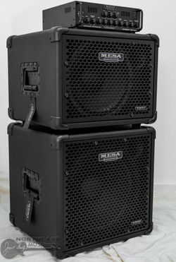 Mesa Boogie Subway WD800 Bass Amplifier w/ 1x12 & 1x15 Cabinet (6.WD800.112.115) | Northeast Music Center Inc.